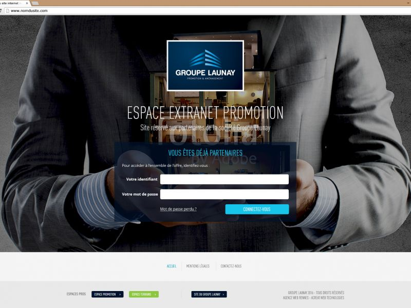 Extranet Promotion Groupe Launay