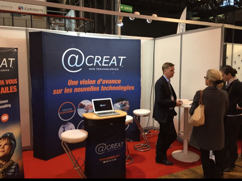 Acreat au salon RENT 2015