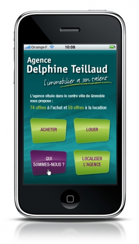 Nouveau site Iphone Delphine Teillaud